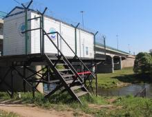 Запущена в опытную эксплуатацию первая на территории Калужской области автоматическая станция контроля воды