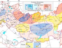Вероятностный прогноз температуры и осадков в России на вегетационный период (апрель - сентябрь) 2019 года