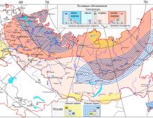 ВЕРОЯТНОСТНЫЙ ПРОГНОЗ ТЕМПЕРАТУРЫ И ОСАДКОВ в РОССИИ на вегетационный период (апрель - сентябрь) 2021 г.