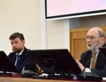 Игорь Шумаков и Роман Вильфанд приняли участие в пресс-конференции, посвященной Всемирному метеорологическому дню