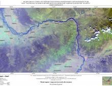 Гидрологическая обстановка на реках Республики Бурятия по спутниковым данным за 15-16 сентября 2021 г.
