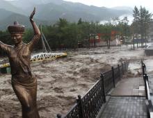 Наводнение в Аршане Бурятии. Из-за селевого потока 1 женщина погибла, пострадало несколько человек, повреждение инфраструктуры.
