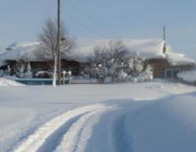 Такого снегопада давно не знали здешние края