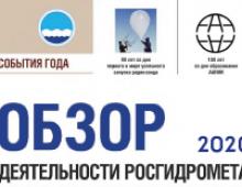 Росгидромет опубликовал обзор деятельности за 2020 год