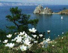 Прогноз погоды на пляжах оз.Байкал, Гусиное и Щучье