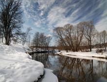 Теплая зима 2014